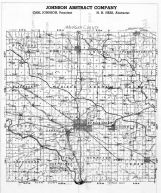 Mahaska County Map, Mahaska County 1949
